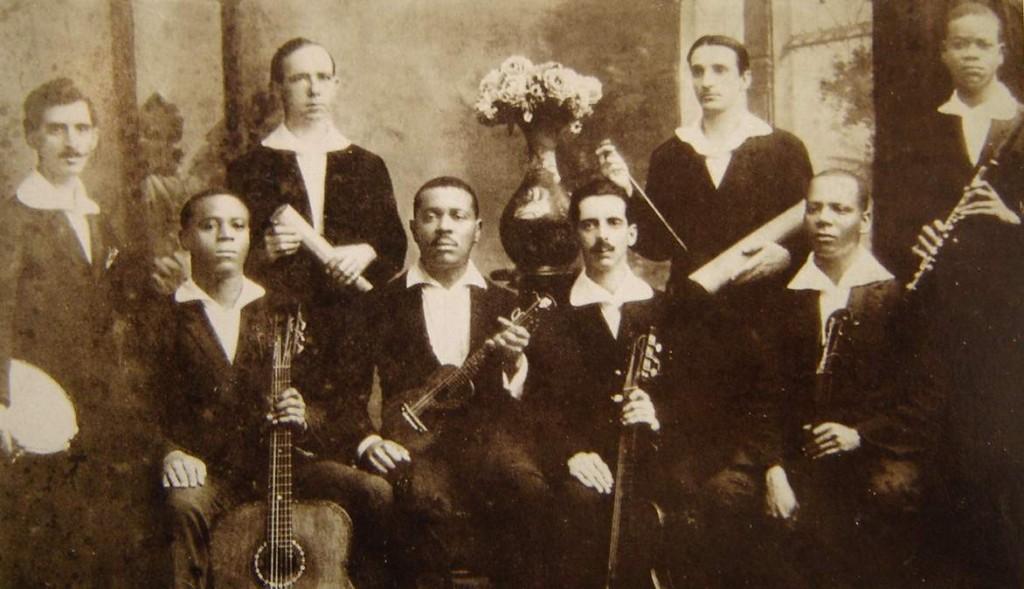 pixinguinha et os batutas (formation originale vers 1919)