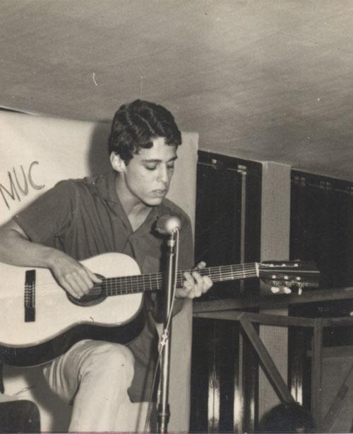 Chico buarque en 1961