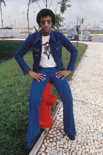 Jorge Ben en 1973 (photo de J. Ferreira da Silva)