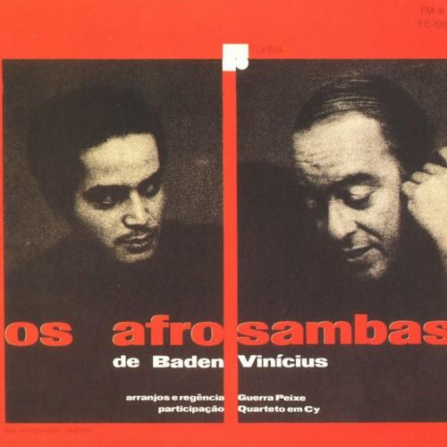 1- Capa de Os Afro-sambas de Baden Powell & Vinicius de Moraes - 1966