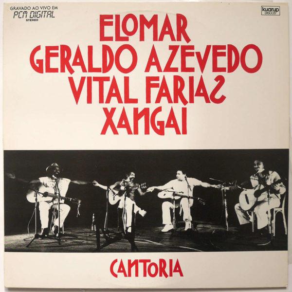 Elomar, Geraldo Azevedo, Vital Farias e Xangai - Cantoria
