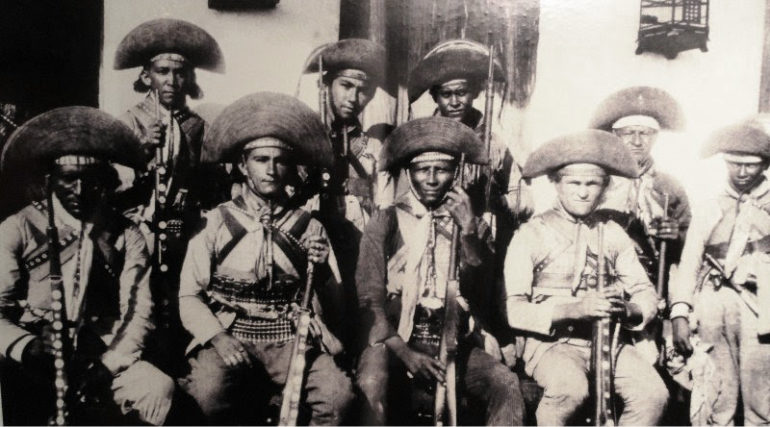 Volta Seca est le plus à droite de la photo